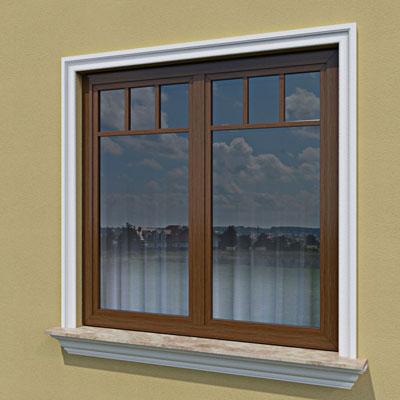 Wizualizacja produktu Fassadenleiste L20