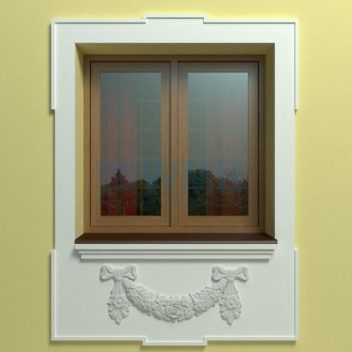 Wizualizacja produktu Zestaw dekoracyjny WMB - ZO7